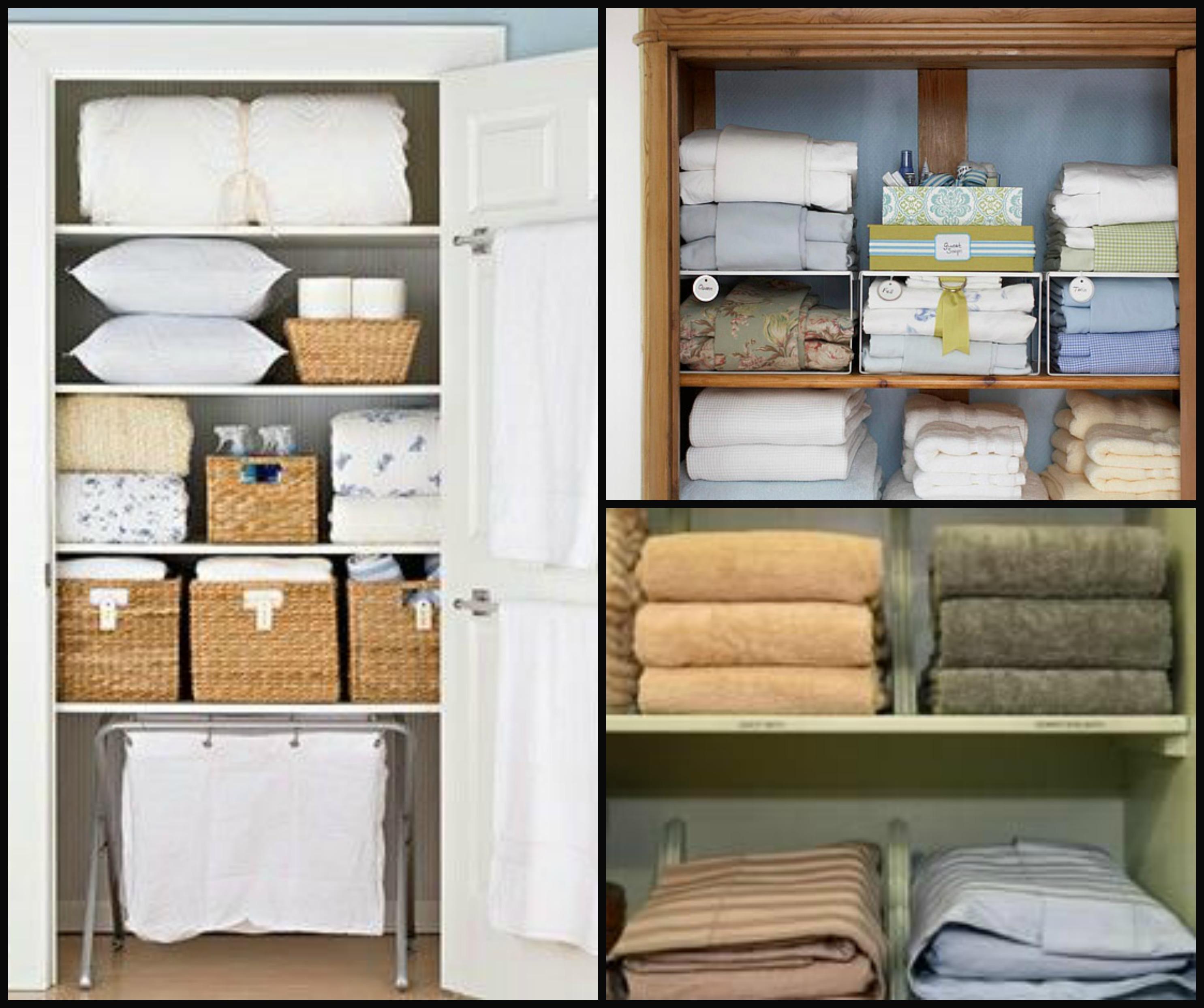 21 Day Organization Challenge Day 15 Linen Closet