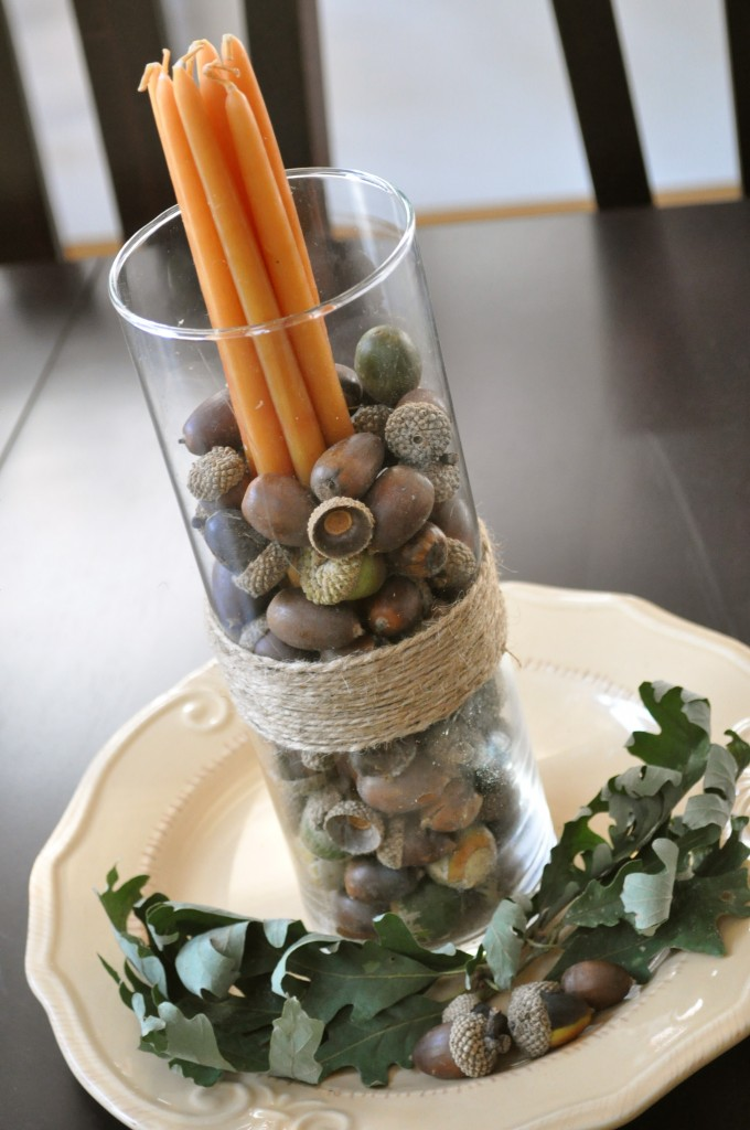 Four easy and inexpensive centerpieces for your