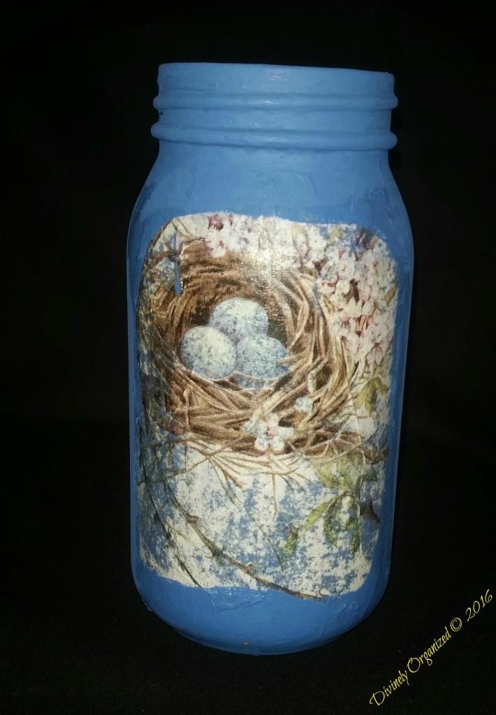 Bird - Nest Rear View - Blue PM
