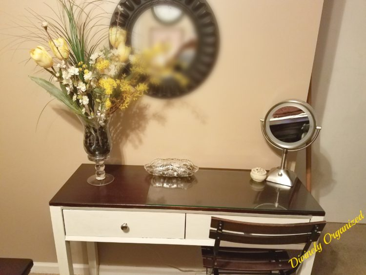 A Light & Bright Vanity Upcycle