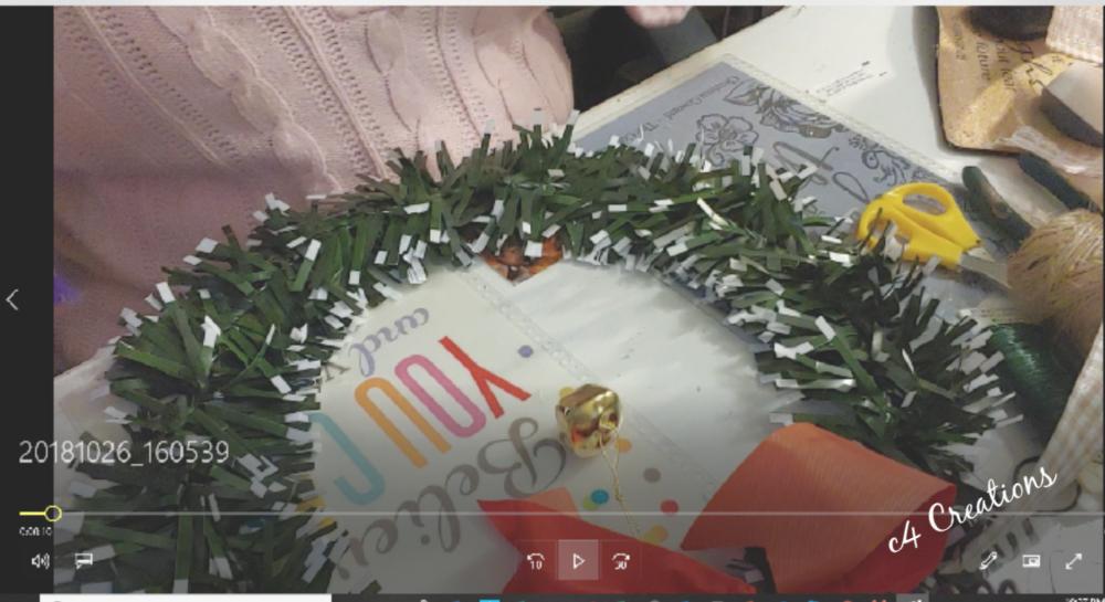 DT Christmas Wreath