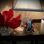 Christmas Decorations Side Table