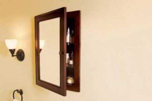 Images Of Medicine Cabinet Mirror Repair