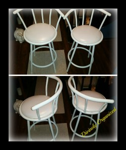 Bar Stools White PM