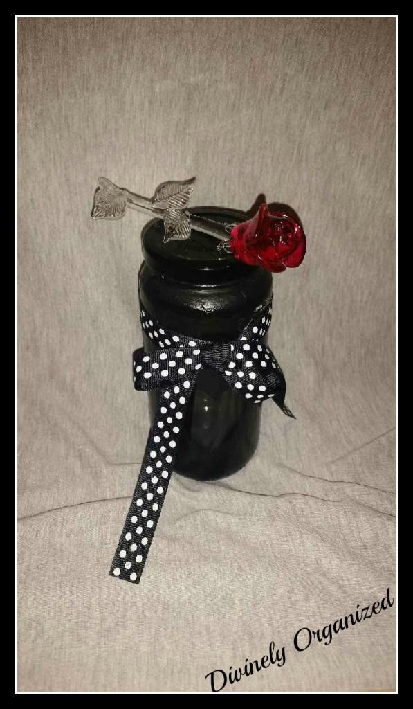 Black Painted Jar 1 PM