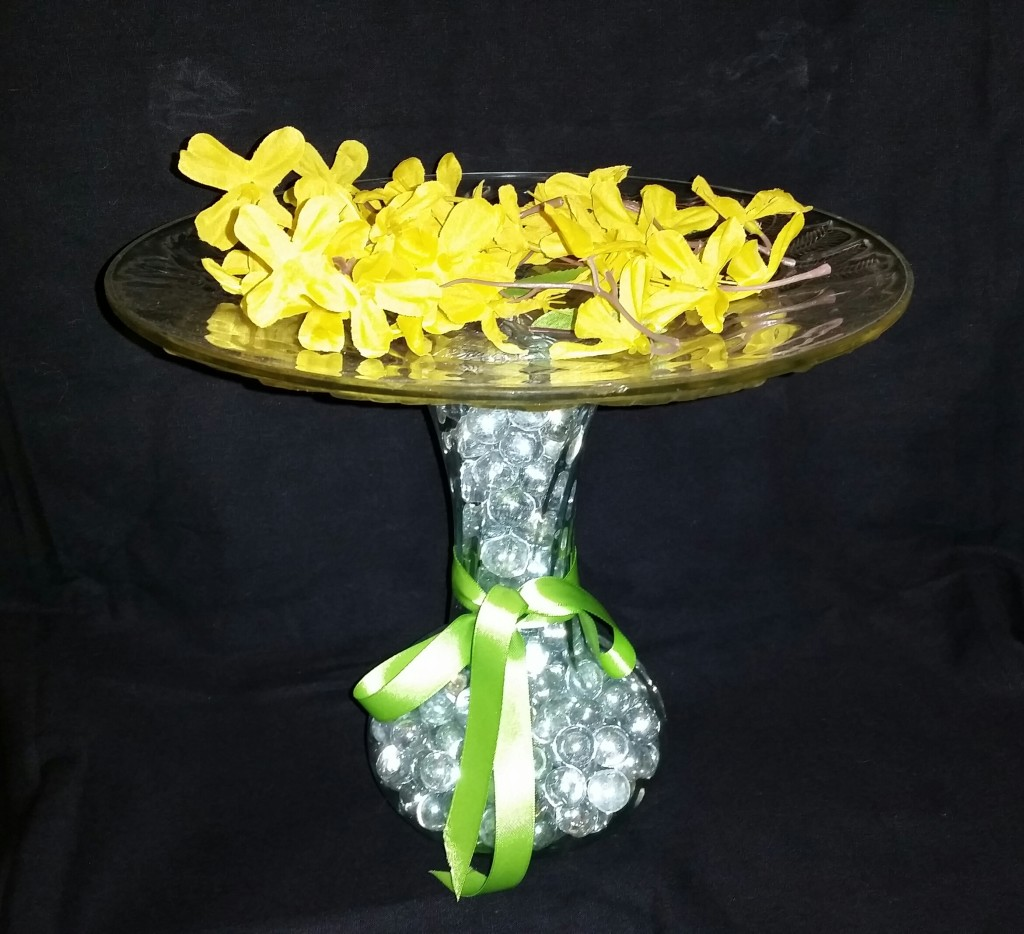Bubble Vase Plate Stand 3