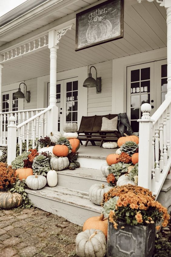 Fall Porch Decor 2019