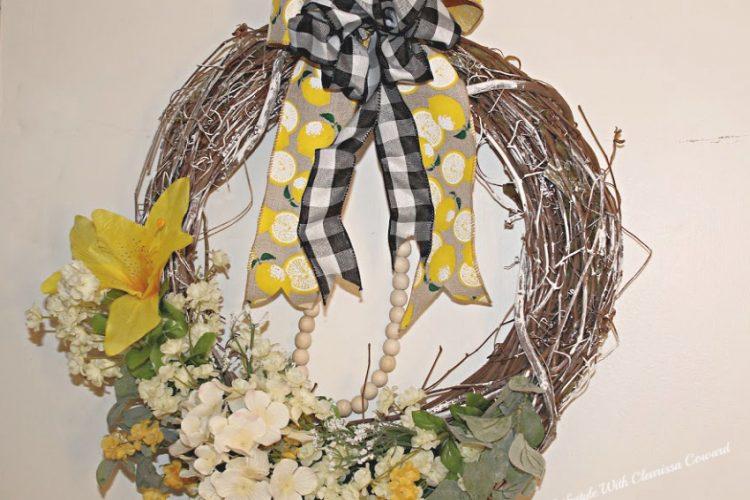 DIY - 2 Spring Wreaths