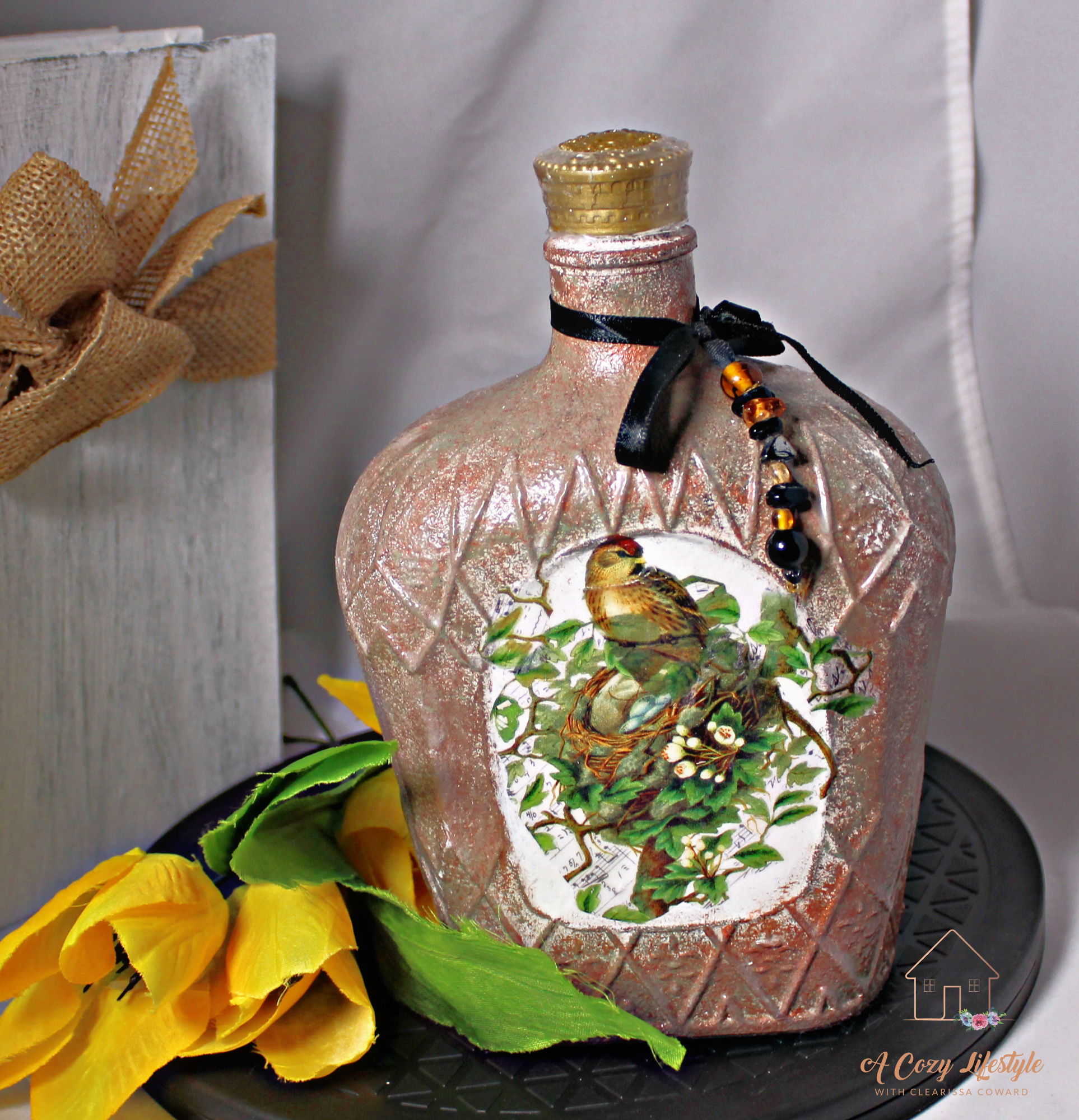 Tuscan Inspired Bottle